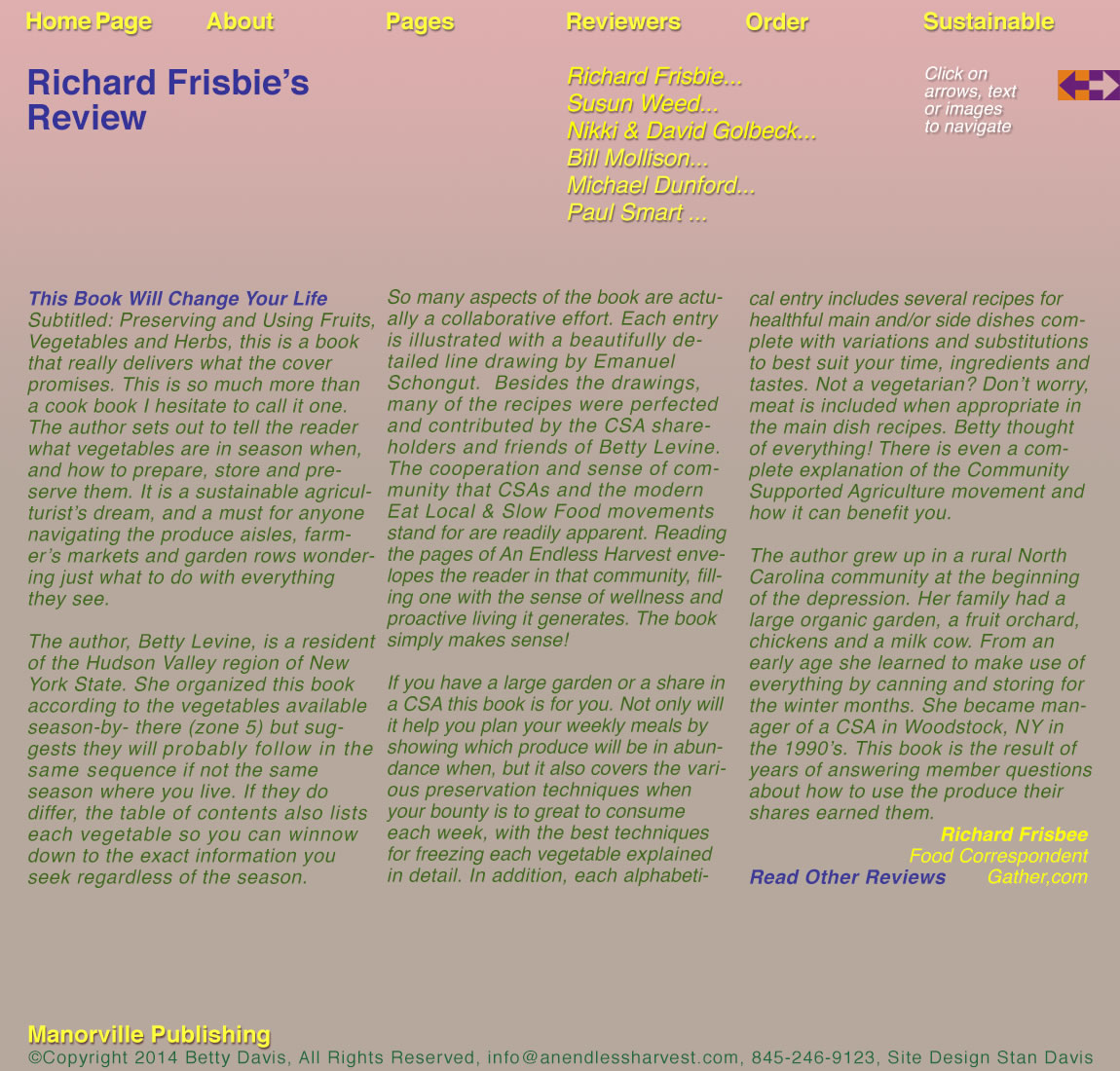 Richard Frisbie's Review